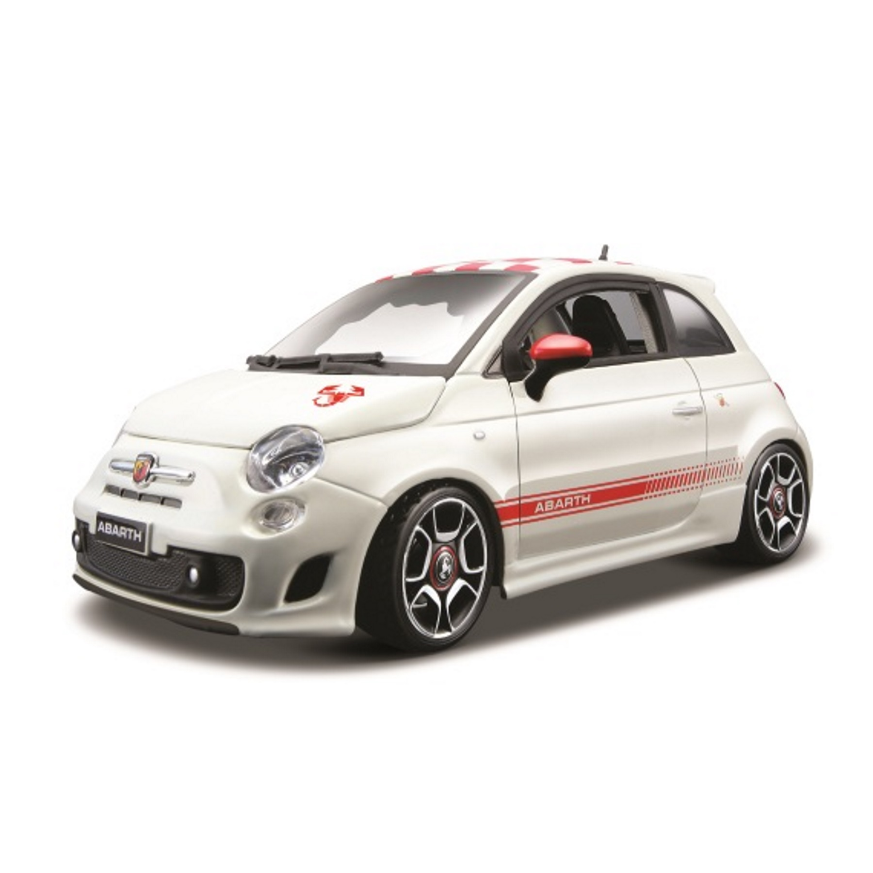 Original  Modellauto Abarth 500