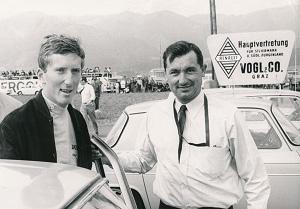 Jochen Rindt und Oskar Vogl